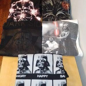 5 Star Wars T-Shirts